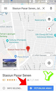 Cara setting google maps untuk sepeda motor