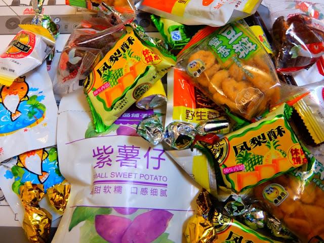 中国のお菓子の写真です。