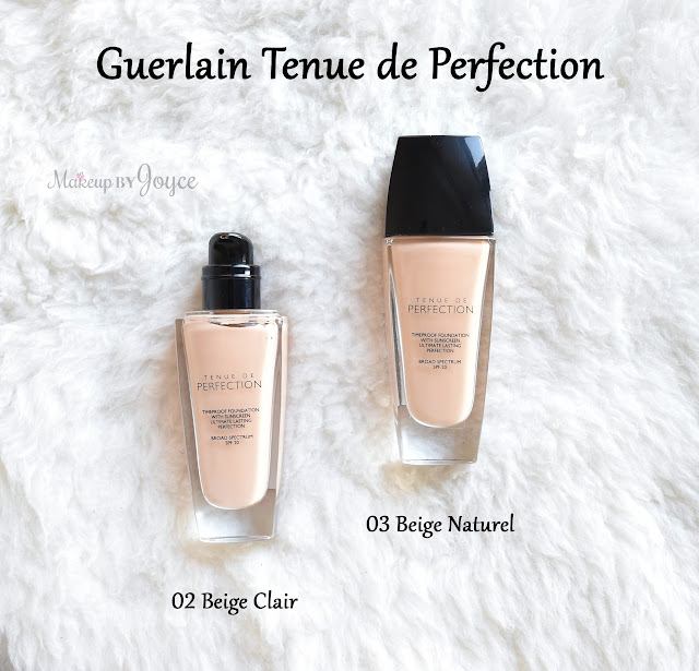Guerlain Long Lasting Timeproof Foundation Swatch NC30