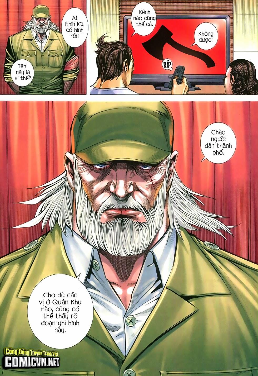 Đại Quân Phiệt chap 12 trang 8