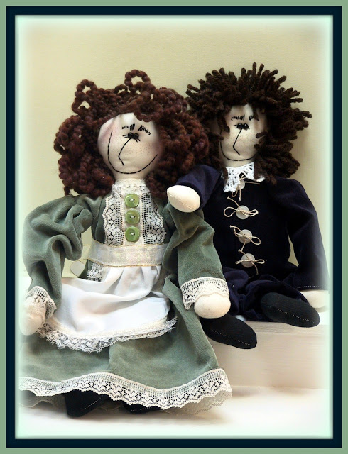 The Doll Products Lines Series - Mercy and Jacob