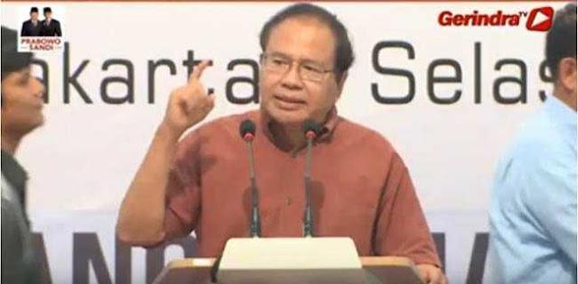 Rizal Ramli: Dibanding 2014, Skala Kecurangan Kali Ini Luar Biasa