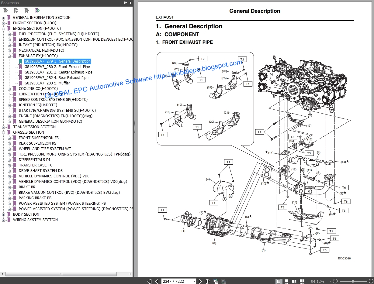 Auto Moto Repair Manuals Subaru Forester