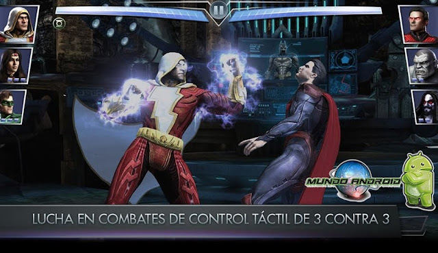 Jugabilidad de Injustice: Gods Among US
