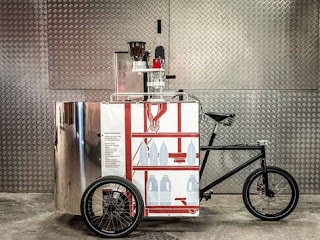 How BikeCaffe's Mike Ash Sells Lattes From A Bike