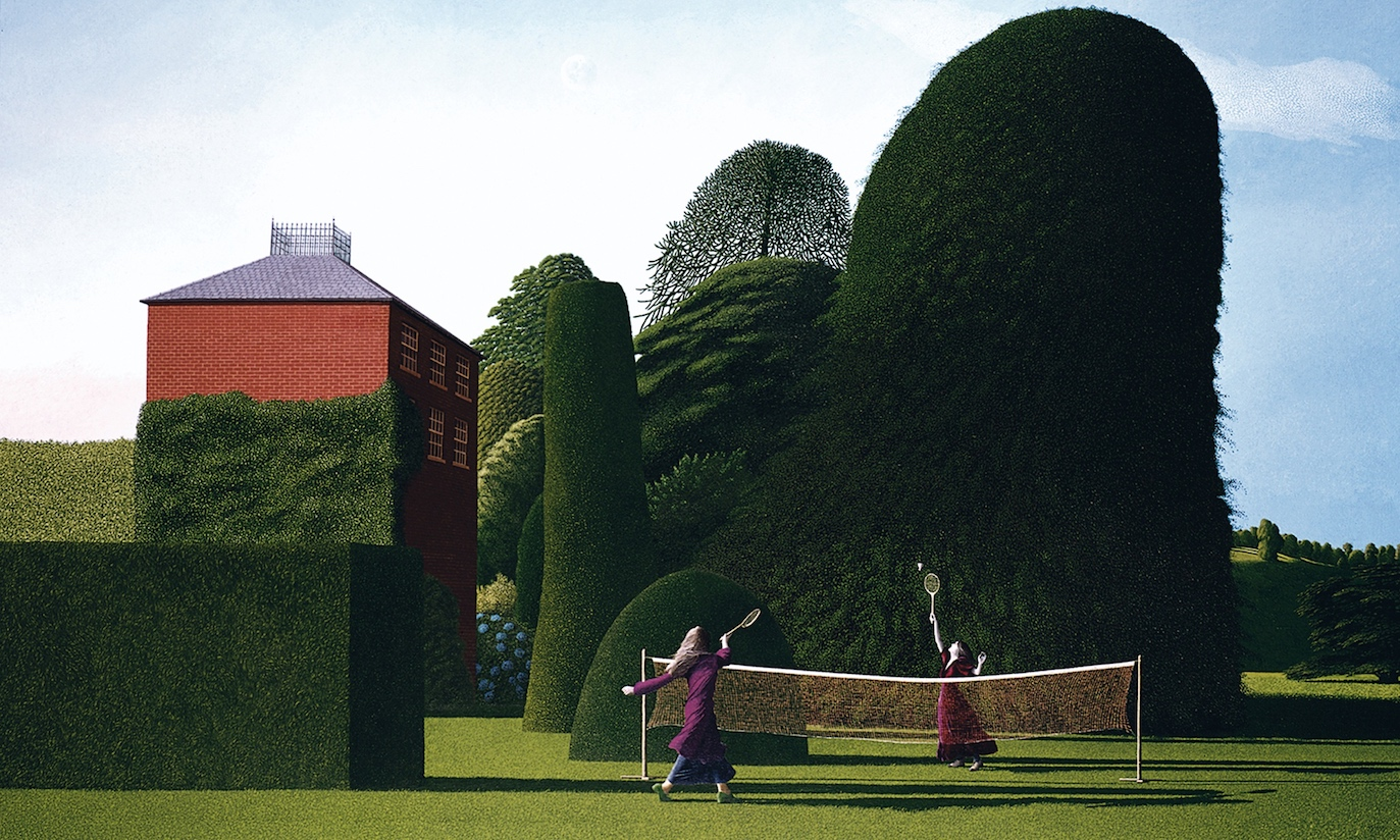 David Inshaw ~ Art Pop | Paisagem