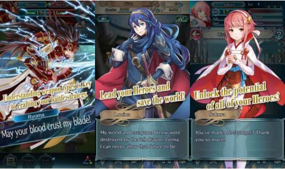 Fire Emblem Heroes MOD Unlimited v1.3 APK+Data (OBB) Full Unlocked Updated 2017