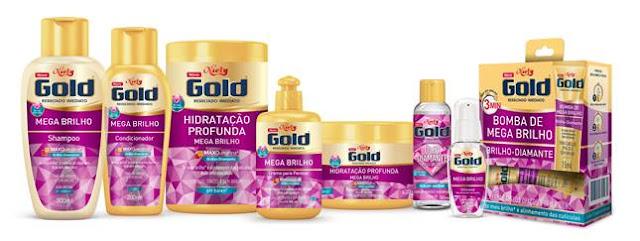 tratamento Niely Gold Mega Brilho
