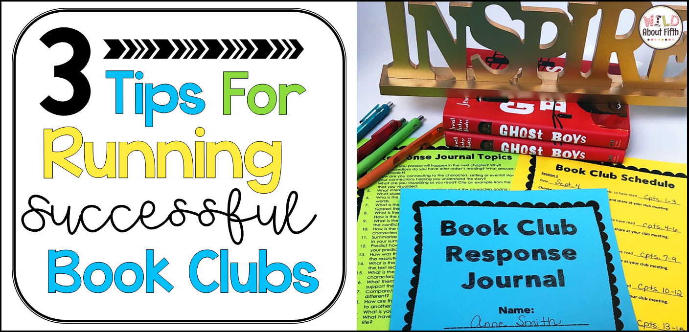 student led book clubs in the classroom