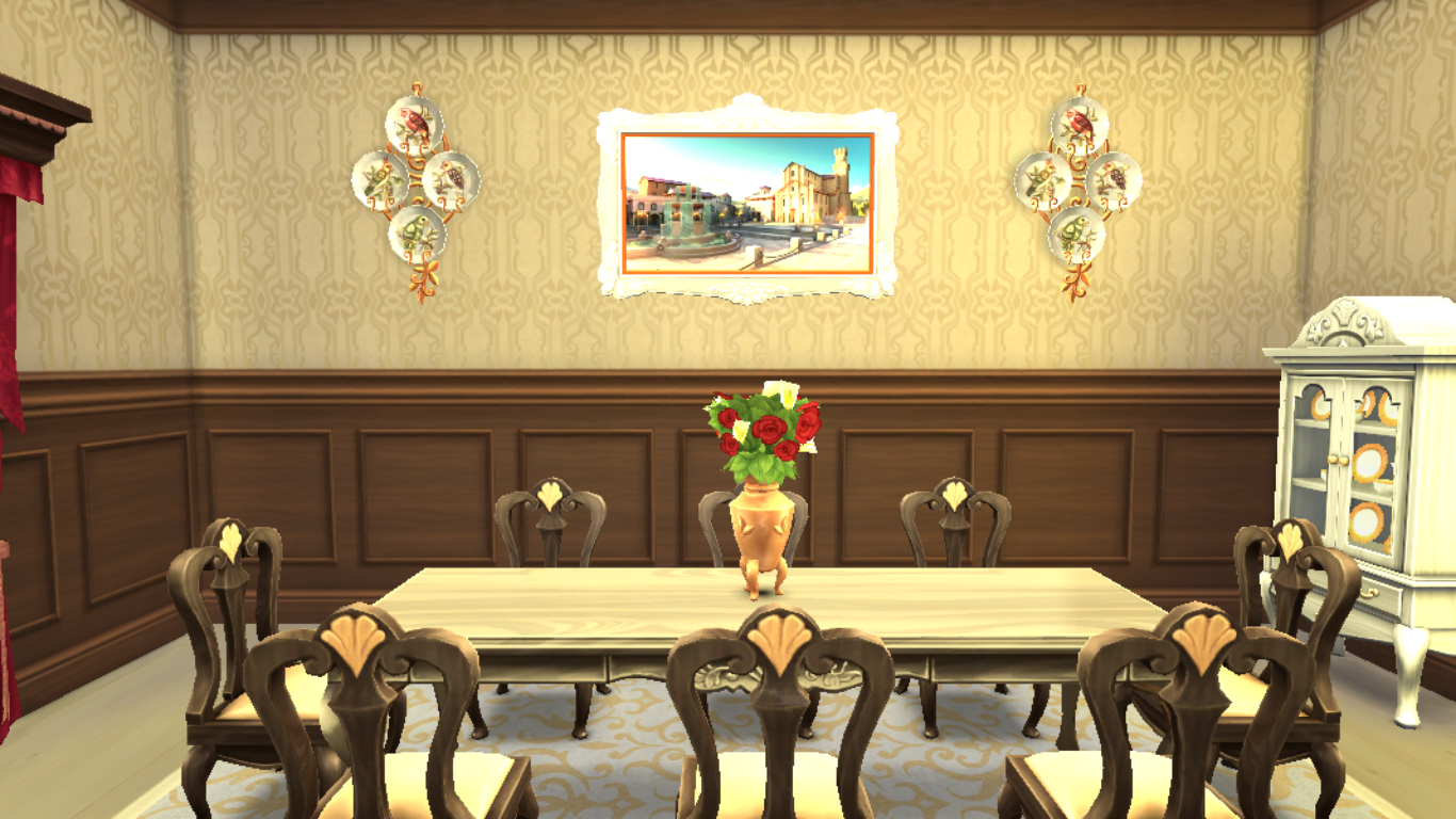 Sims 4 Dining Room,Sims 4 Room,Sims 4 Royal Dining Room