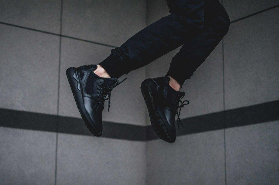 ... adidas Originals Tubular Runner Black on Black ... 995aa71c3