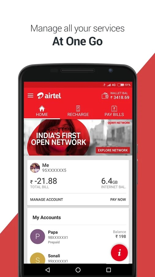 My Airtel App Apk v4 4 0 4 (Latest 2019) Download For