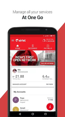 Manage All Your Services With My Airtel APK