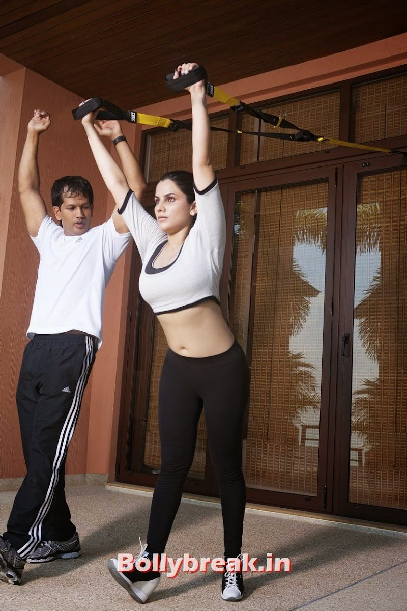 Kashish was in Phuket recently with her personal trainers