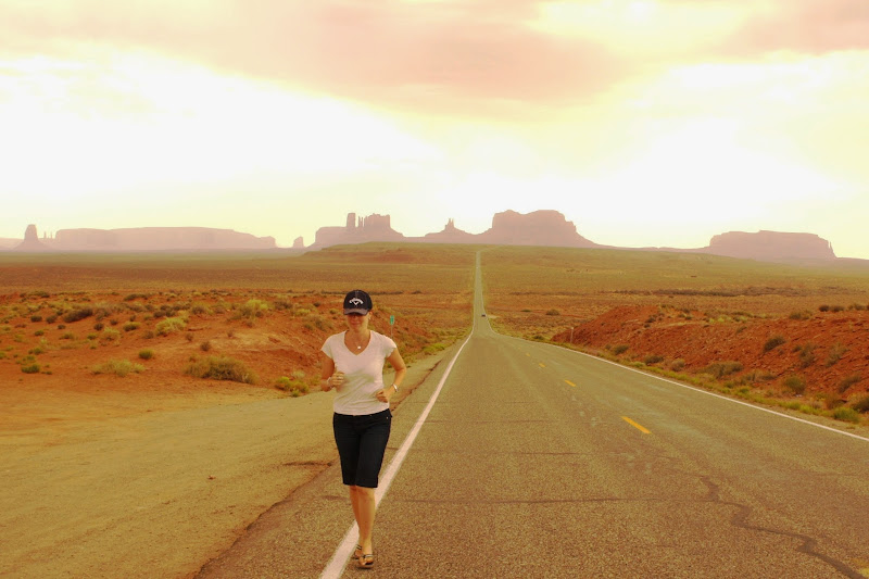 Forrest Gump Photo Op Monument Valley Utah