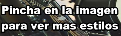 Estilos de música para la guitarra