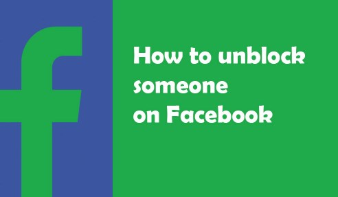 How I Can Unblock a Person on Facebook
