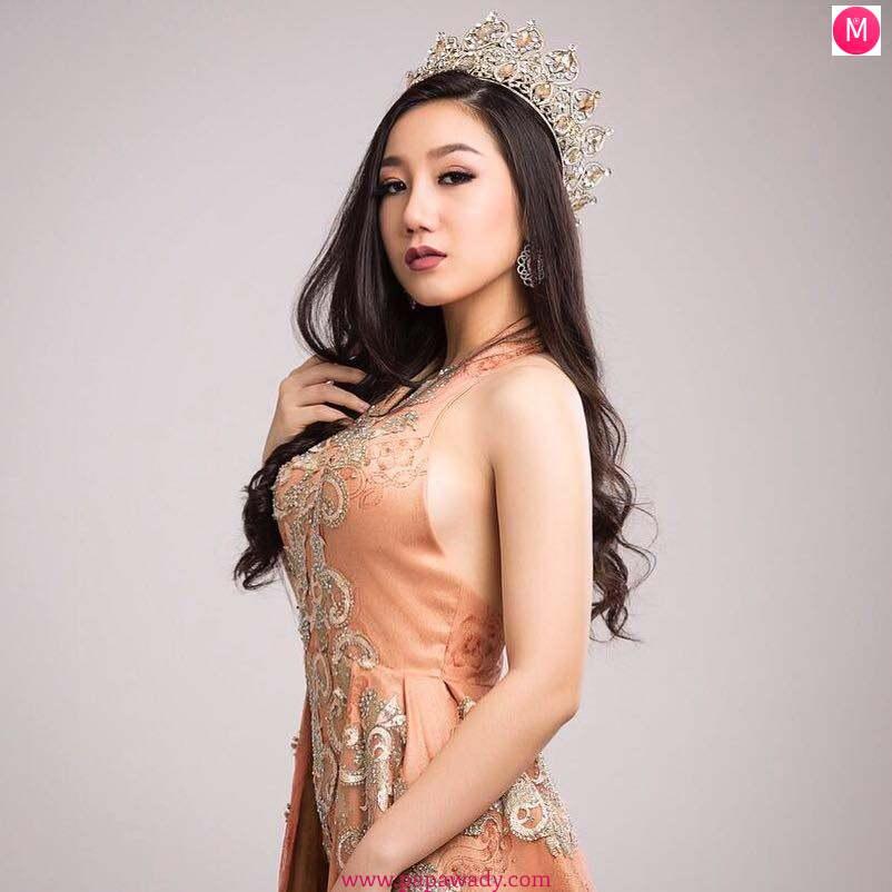 Htut Myat Shwe Yee - Miss Univese Pyin Oo Lwin 2017
