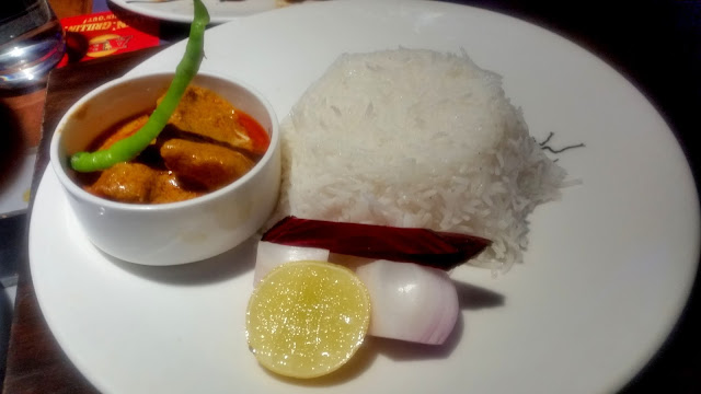 Goan Fish Curry with Rice