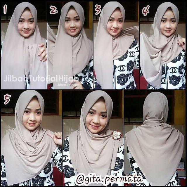 Tutorial Hijab Sehari Hari Hijabfest