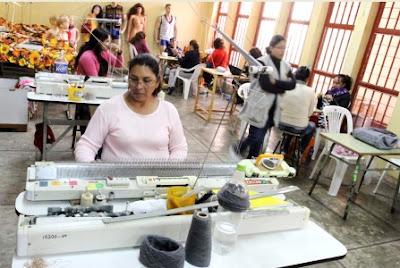 Foto: Talleres dentro del Penal de Mujeres de Chorrillos