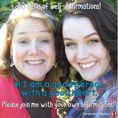 """30 Days of Self-Affirmations: Day 1: I am a good person with a good heart. For 30 days, I will be celebrating my own """"new year"""" with self-affirmations. If you are interested in joining me, feel free to  write your own affirmations here, or  respond on my social media here: https://linktr.ee/elementarymatters"""