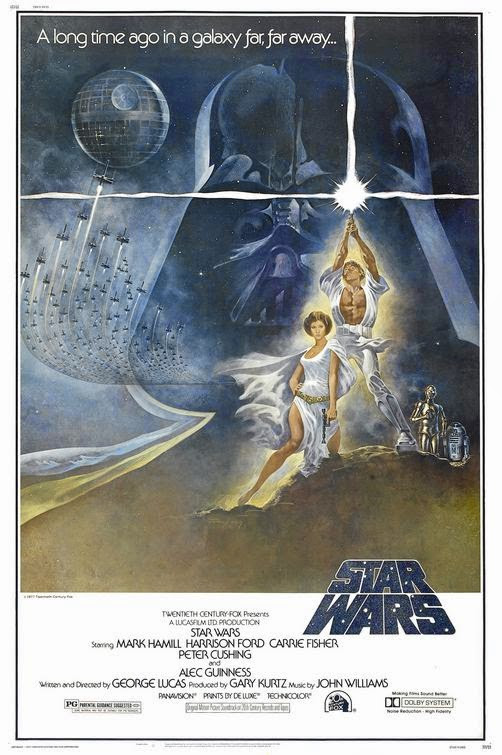 StarWars IV - ( First Star Wars movie released in '77 )