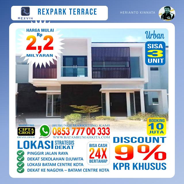 Perumahan Rexpark Terrace - Urban
