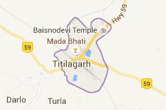 Titlagarh Map
