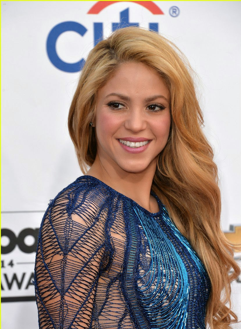 Chatter Busy Shakira Walks Red Carpet Before Her Big