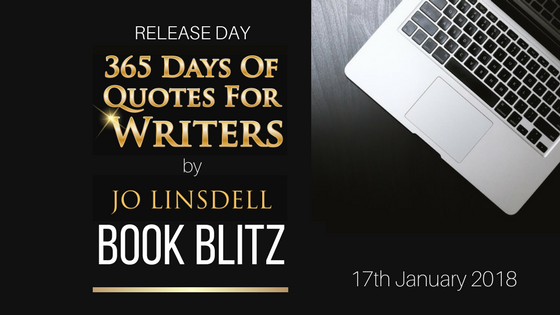 Book Blitz: 365 Days of Quotes for Writers 17th January 2018