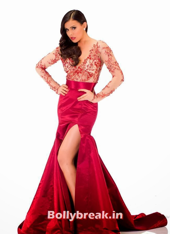 Miss Mexico, Miss Universe 2013 Evening Gowns Pics