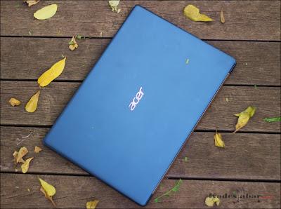 Body Swift 3 Acer Day Edition berbahan metal yang kokoh