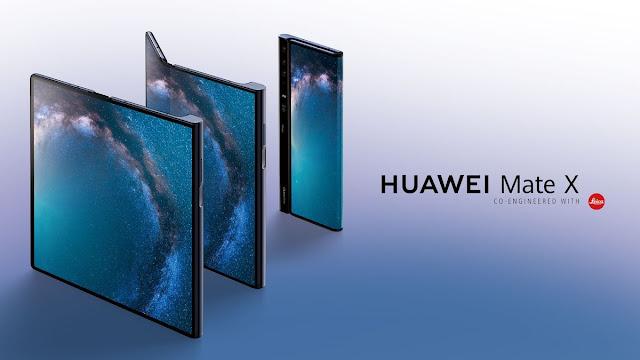 Huawei Mate X foldable 2019