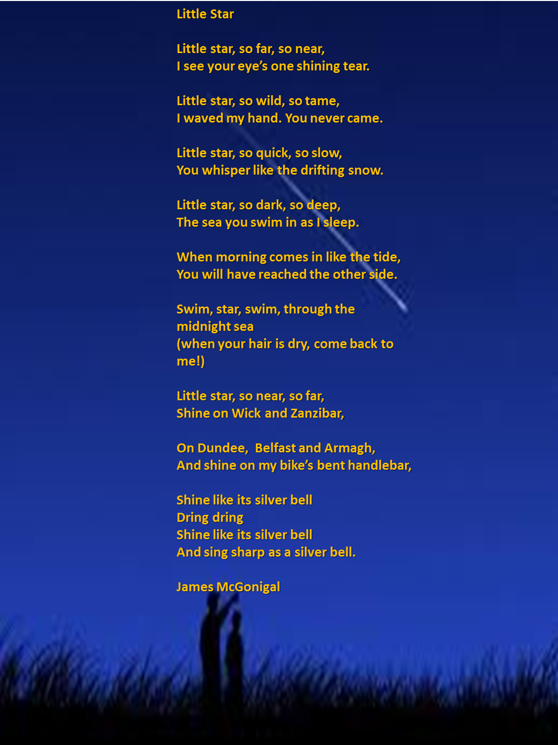 Star Poems 5
