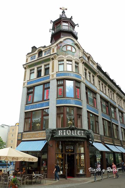 Riquethaus, Leipzig, Alemania