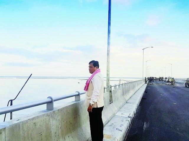 Bogibeel Bridge to be inaugurated by PM Modi this year: Sarbananda Sonowal