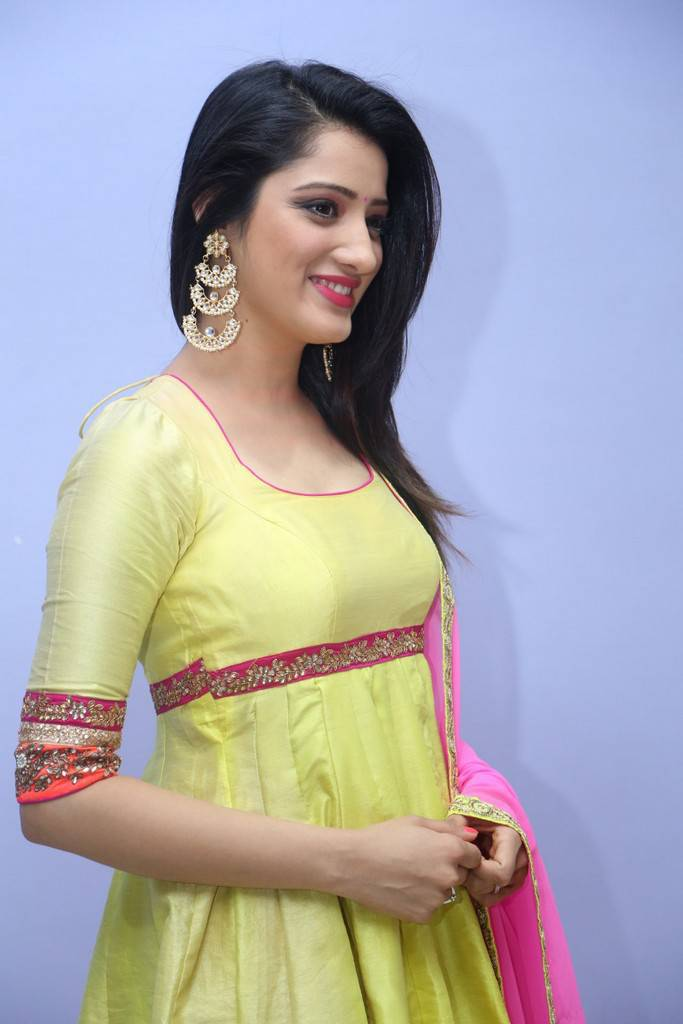 Richa Panai At Rakshaka Bhatudu Audio Launch Stills