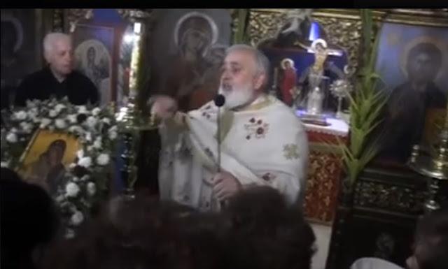 Αποτέλεσμα εικόνας για Ο Παπαχρήστος ''τα πήρε στο κρανίο'' και χώνει σε Οικουμενιστές και Συριζαίους