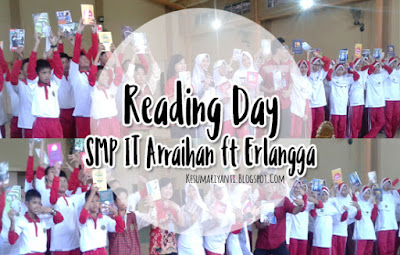 Reading Day SMP IT Arraihan bersama Penerbit Erlangga