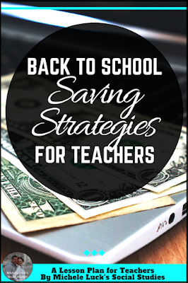Back to school shopping tips for teachers to help them save time and money on their classroom needs and organization hacks. Number 5 is my favorite!