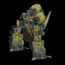 Zorgons, los robots errantes del cosmos ~ Spore Galaxies: The Fallen Caminante%2BX-90%2B3