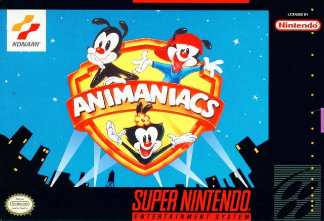 ROMs - Animaniacs (Português) - SNES Download