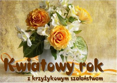 kwiatowy%2Brok - Kwiatowe karteczki - tulipany iróże