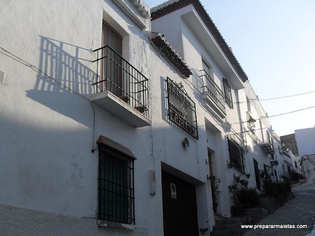casas blancas de Salobreña