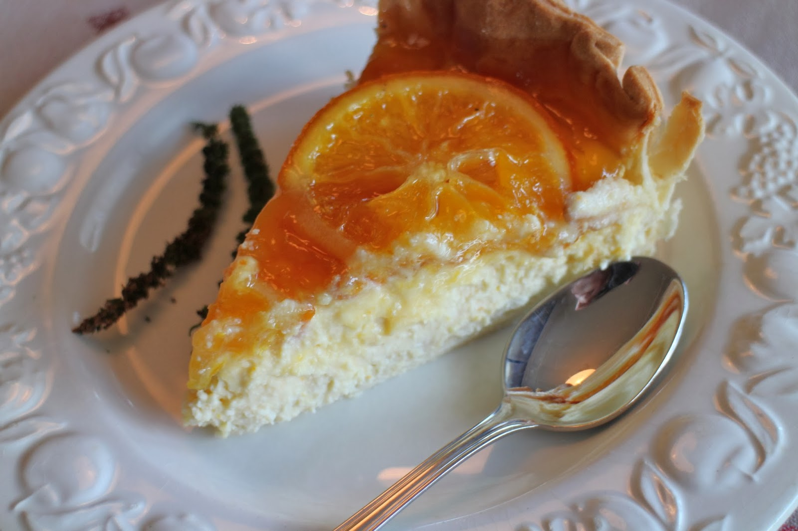 orange-cheesecake, cheesecake-de-naranja, naranja-confitada