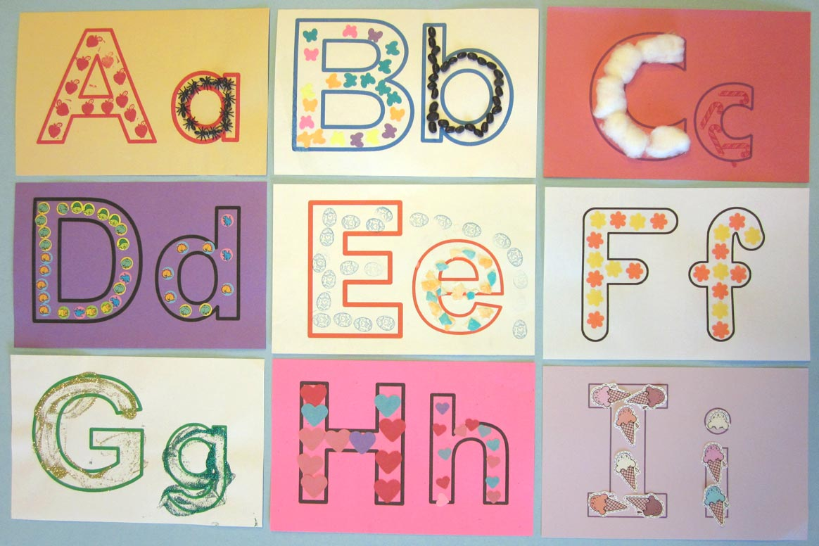 Pam Hyer Teaching The Alphabet