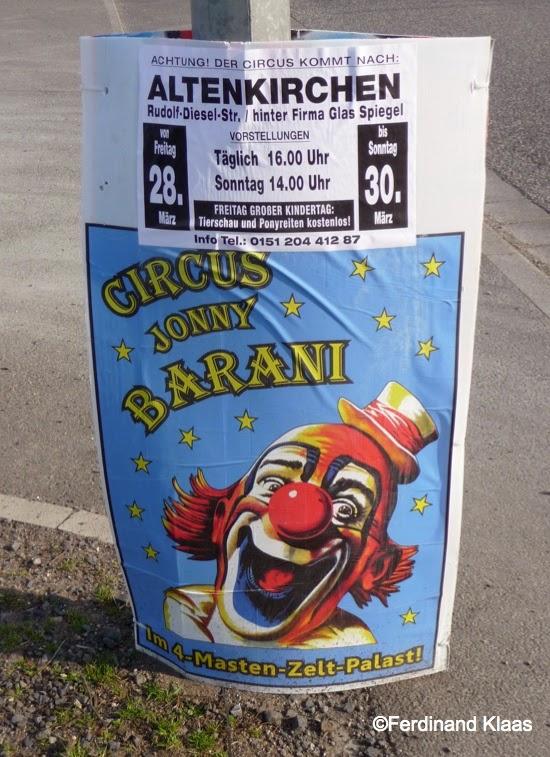 Glas Spiegel Altenkirchen norberts internationale circuswelt circus jonny barani in