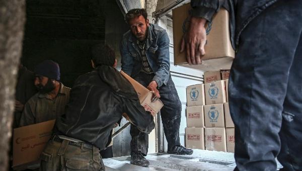 ONU solo logra entregar la mitad de ayuda humanitaria a Siria