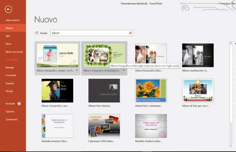 Come creare album fotografico con PowerPoint